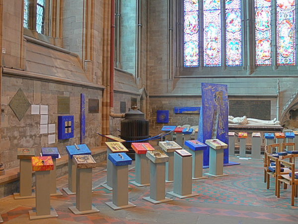 Eine Ausstellung von moderner Ikonenmalerei