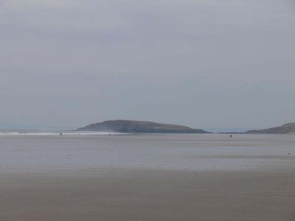 Burry Holms am nördlichen Ende der Bay