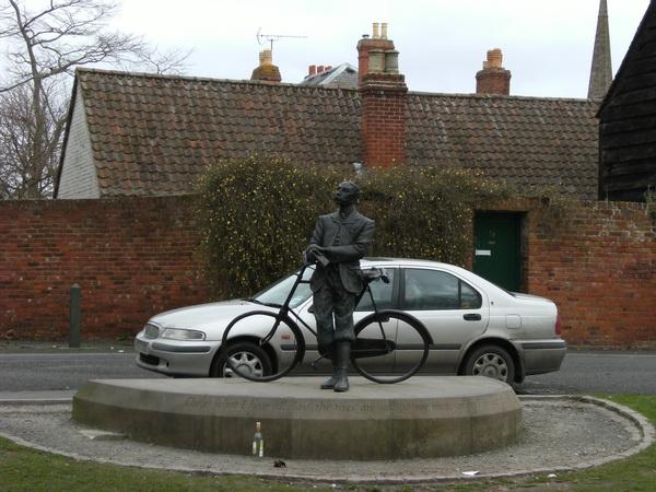 Denkmal zu Ehren von Edward Elgar