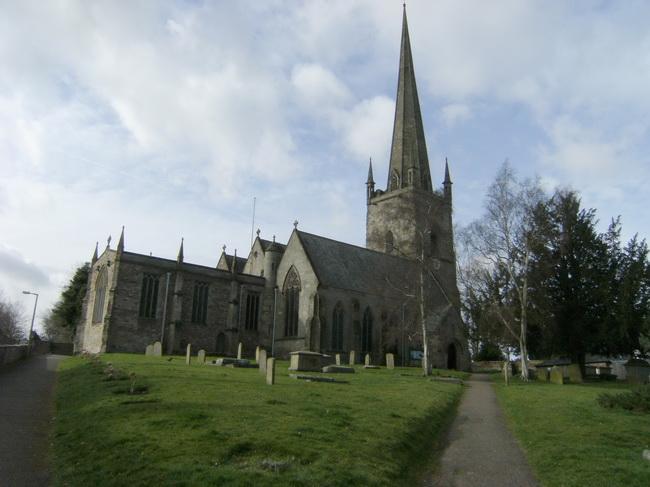 Pfarrkirche St. Mary in Ross-on-Wye