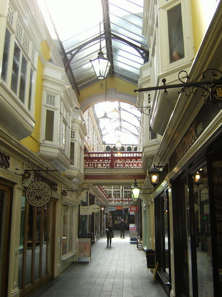 Passage in Cardiff