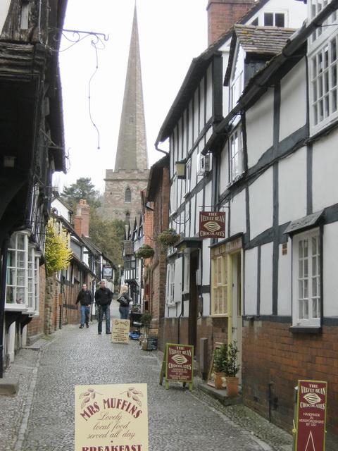 Church Lane in Ledbury