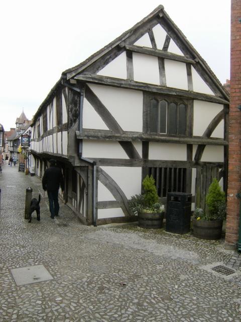 Und noch ein Fachwerkhaus in Ledbury