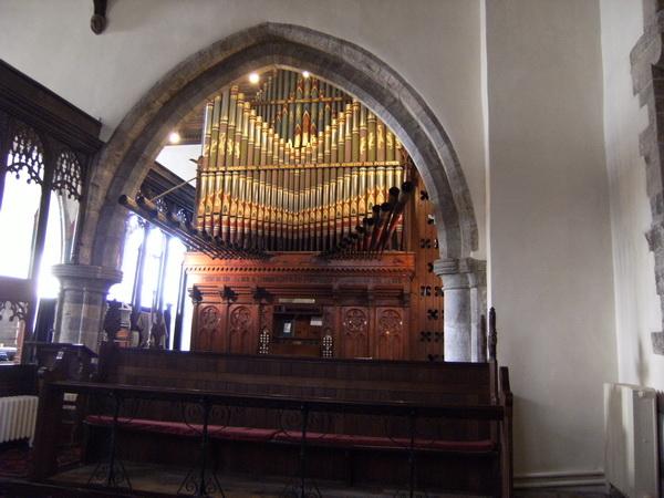 Die ungewöhnliche Orgel