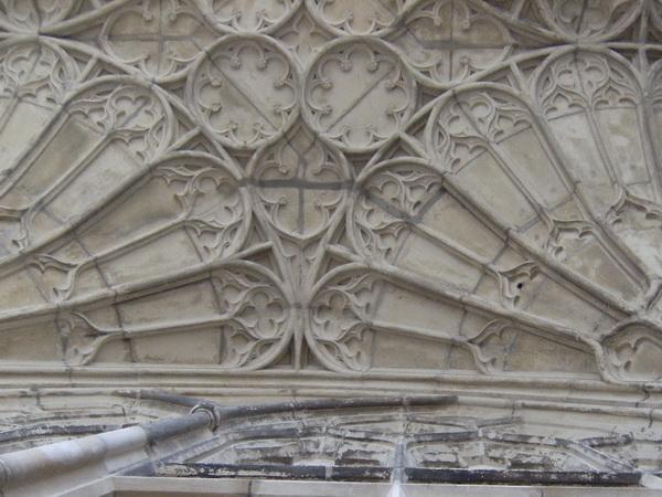 Ausschnitt des Gewölbe des Kreuzgangs