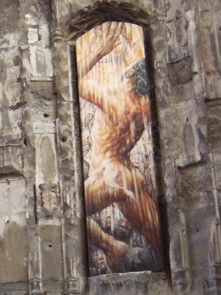 Wandbilder in der Lady Chapel (Detail)