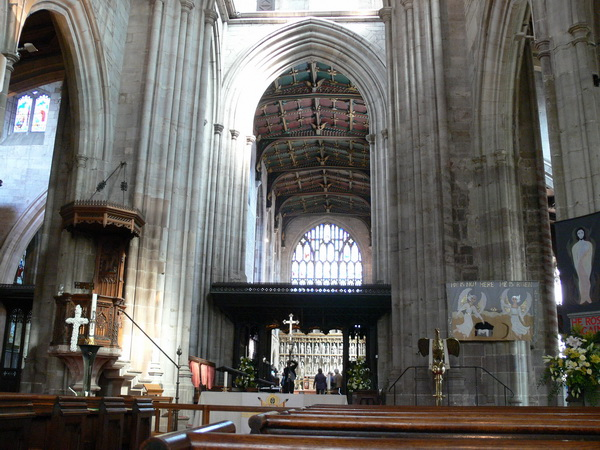 Die größte Gemeindekirche in Shropshire