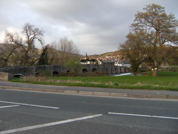 Usk-Brücke bei Crickhowell