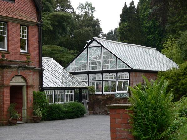 Eingang zu Hergest Croft Gardens