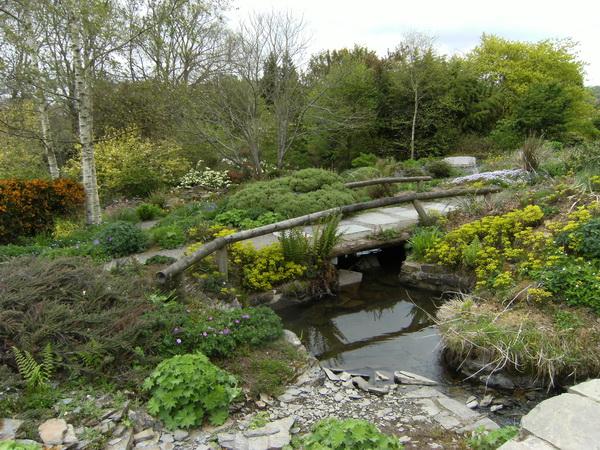 Im Steinbruch-Garten