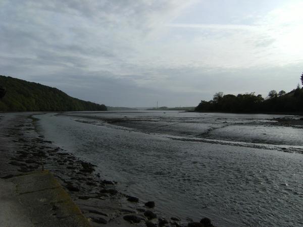Mündung des Tavy in den Tamar