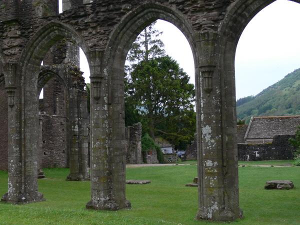 LLanthony Priory im Ewyas-Tal