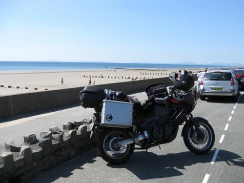 Bei Barmouth erreichten wir die irische See