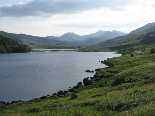 Südlich des Mount Snowdon