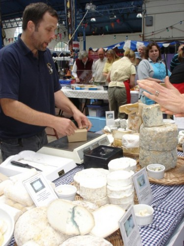 Farmermarkt in der Markthalle
