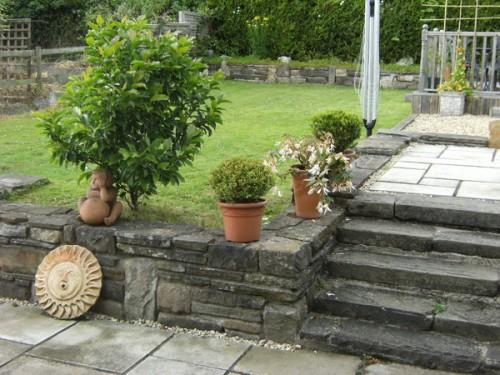 Bei uns im Garten ist's aber auch schön!