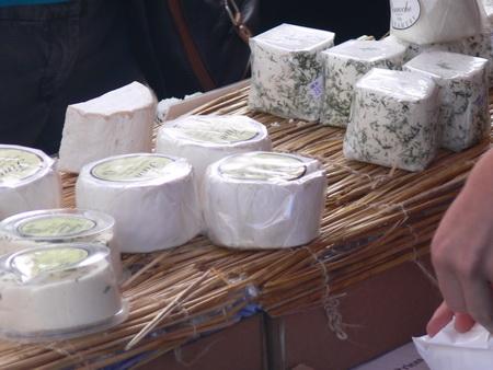 Auf dem Käsemarkt