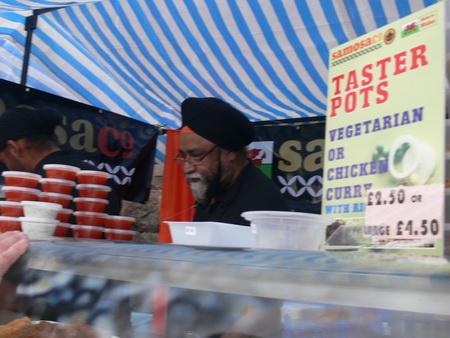 Samosa Co., kommt auch samstags auf den Markt