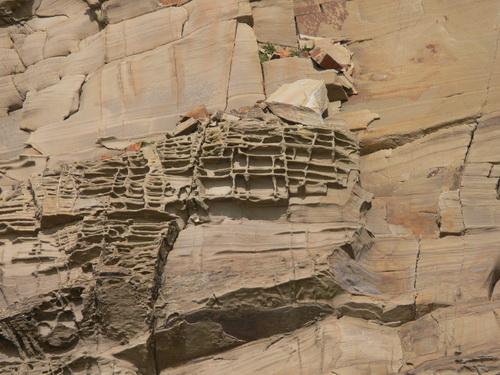 Verwitternder Sandstein