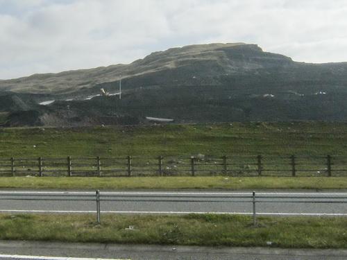 Aktiver Kohletagebau