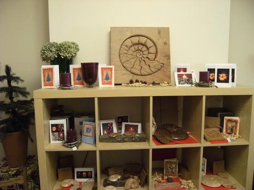 Karten und Holz-Puzzle