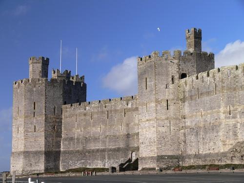 Die Burg von Caernarfon