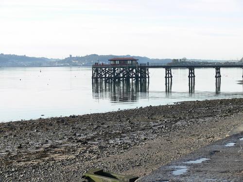 Das Pier von Beaumaris