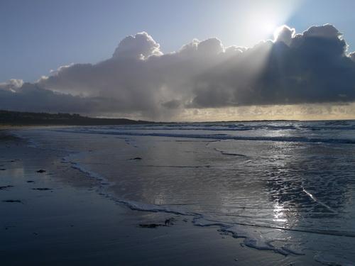 Manchmal schoben sich doch Wolken vor die Sonne