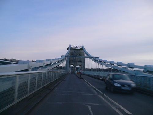 Hängebrücke von Thomas Telford
