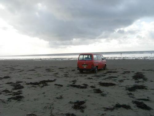 Am Strand von Black Rock Sands