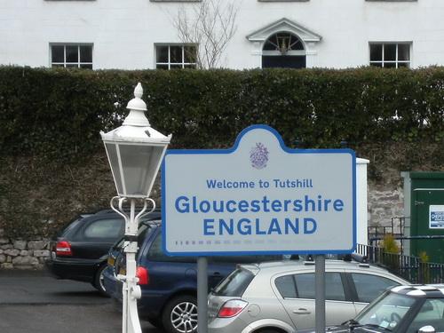 Zu Fuß von Wales nach England