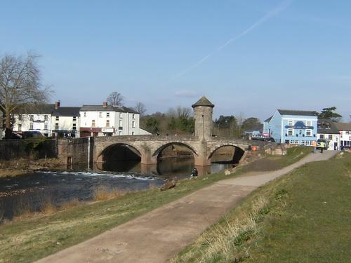 Brücke über den Monnow
