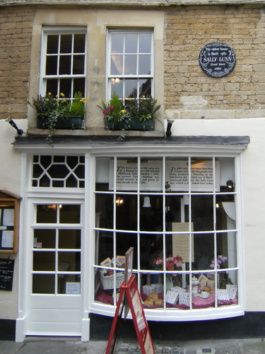 Sally Lunn, das älteste Haus in Bath