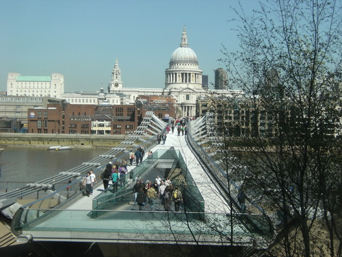 Wobbly (Millenium) Bridge