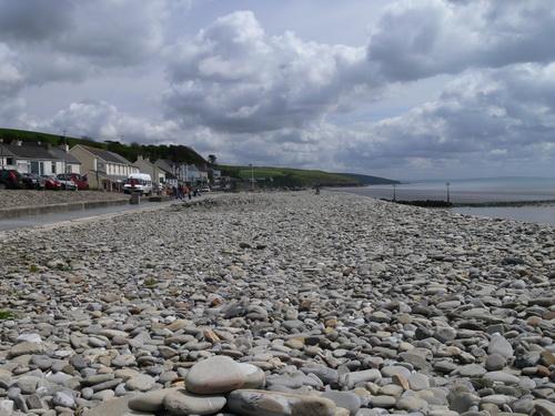 Am Strand von Amroth