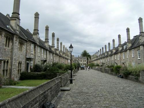 Vicars Close, die wohl älteste Reihenhaussiedlung der Welt