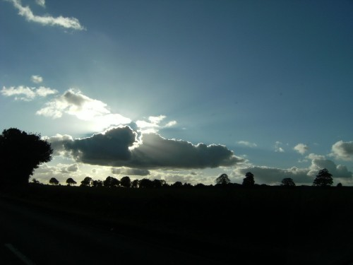 Ab und an versteckte sich die Sonne etwas