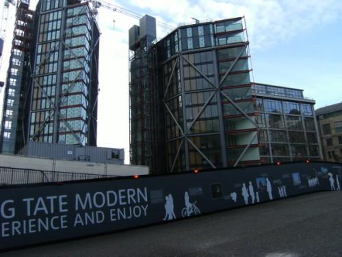 Neubau neben der Tate Modern