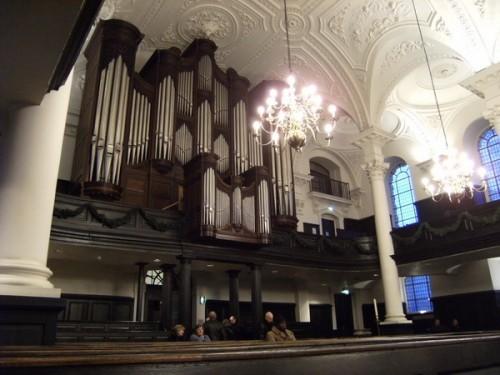 Orgel in St. Martin in the Fields