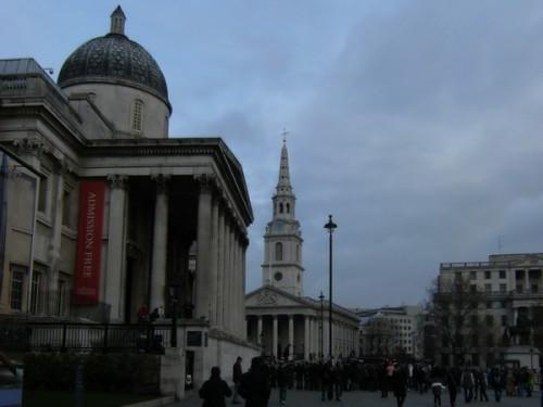 British Gallery und St. Martin in the Fields