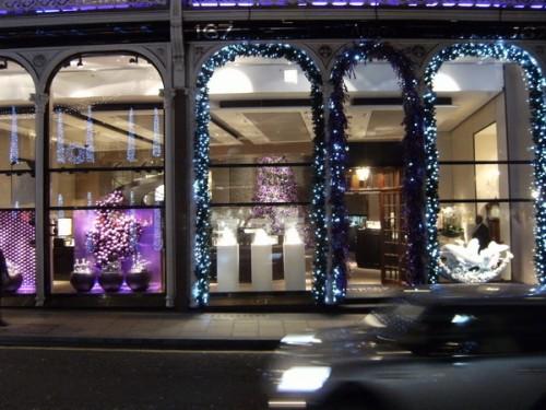 Schaufenster in der Bond Street