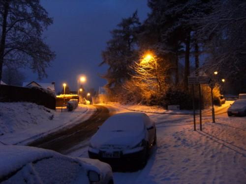 Lower Monkstreet, rechts unser Haus