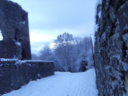An der Burgmauer