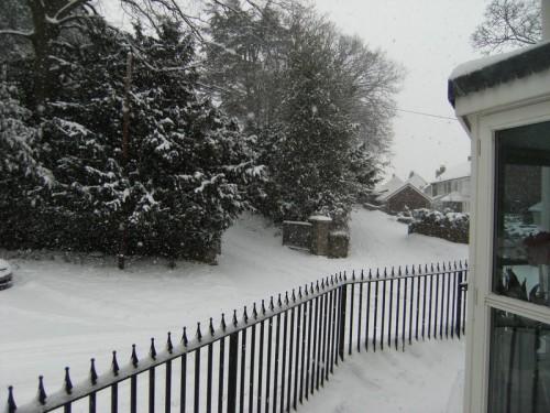 und noch mehr Schnee