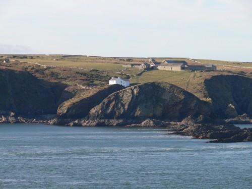 Haus auf Ramsey Island
