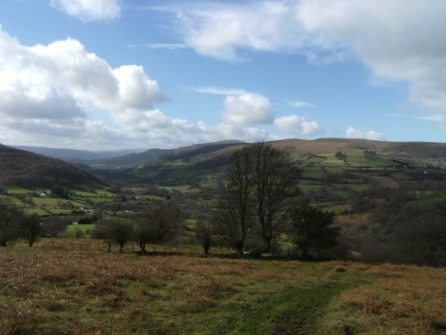 Crickhowell und Table Mountain