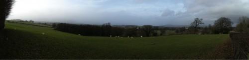 Panorama bei Bettws Newydd