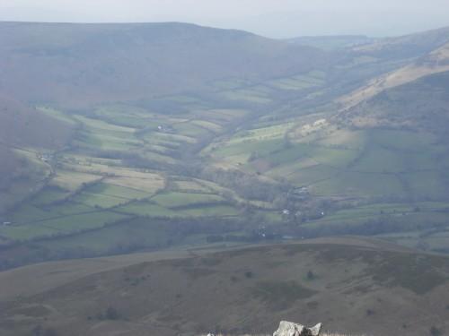 Blick in Cwm Banw
