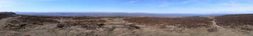 Panorama-Sicht vom Hay Bluff (ca. 7.5MB)