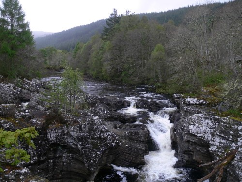 Der River Moriston bei Invermoriston